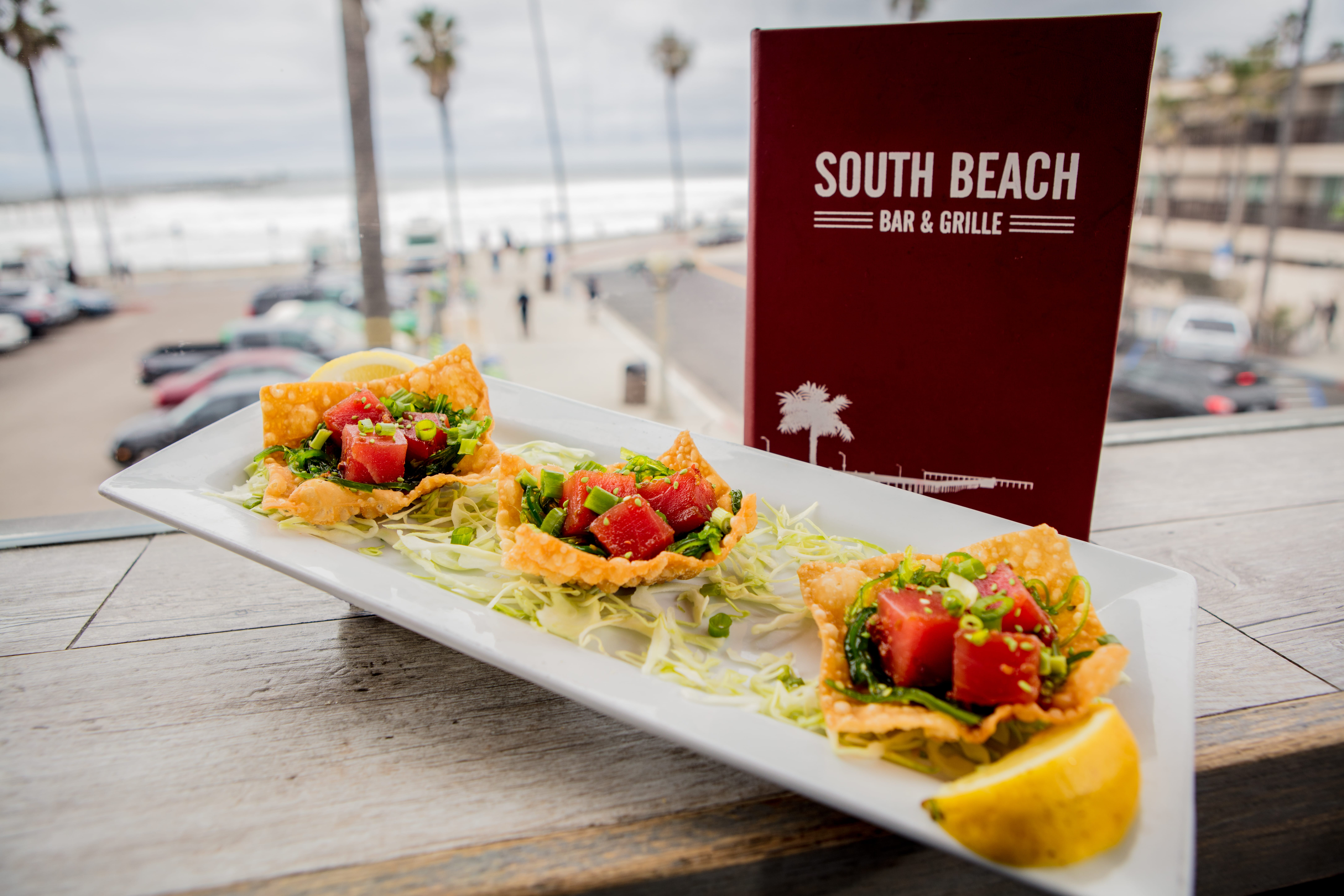 Ocean Beach Fish Tacos Images Lobster And